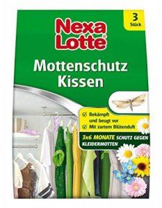 Nexa Lotte Coussin avec fleurs Protection anti-mites parfum, lutte contre, lutte contre anti-mites et protège contre les mites dans les armoires, tiroirs,, commodes, coffres, 3mois, 3Coussin de la marque Nexa Lotte image 0 produit