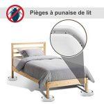 Niapoc Piège punaises de lit bed bugs lot de 4 blanc de la marque Niapoc image 1 produit