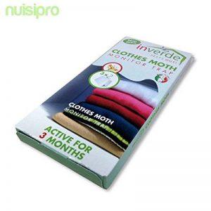 Nuisipro 3 Pièges professionnel avec attractif naturel, contre les mites des vêtements de la marque Nuisipro image 0 produit