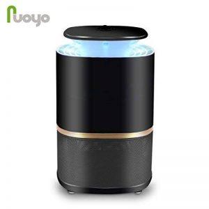 NuoYo Lampe Anti-moustique LED/USB Photocatalyst 12V Zapper Lampe 60 m² UV-Licht 3w es Meilleures Sécurises et Efficaces Lampe par Anti-moustique/Anti-insectes (Noir) de la marque NuoYo image 0 produit