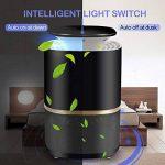 NuoYo Lampe Anti-moustique LED/USB Photocatalyst 12V Zapper Lampe 60 m² UV-Licht 3w es Meilleures Sécurises et Efficaces Lampe par Anti-moustique/Anti-insectes (Noir) de la marque NuoYo image 4 produit