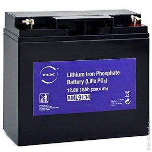 NX - Batterie lithium fer phosphate UN38.3 (230.4Wh) 12V 18Ah T3 - Unité(s) de la marque NX image 0 produit