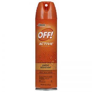 Off! 22937 Active Spray répulsif pour insectes, 9 g de la marque OFF! image 0 produit