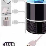 oobest Mute USB Photocatalyseur Mosquito tueur lampe Répulsif Insecte Piège à insectes lumière douce lumière UV Killing Piège Lampe Fly Répulseur de la marque oobest image 4 produit