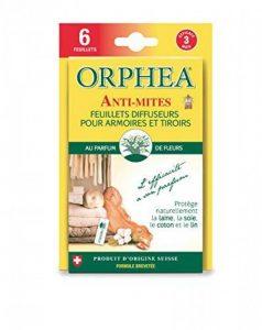 ORPHEA Anti-mites Feuillets Diffuseurs - Lot de 3 de la marque Orphea image 0 produit