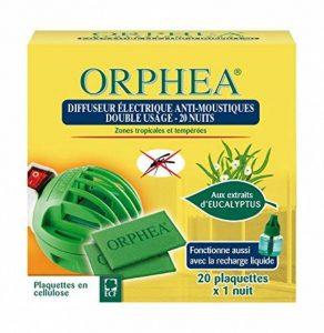 ORPHEA Diffuseur Anti-Moustiques - Lot de 2 de la marque Orphea image 0 produit