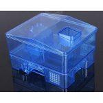 OUNONA Pièges cafard réutilisables cafards cafard boîte de piégeage cafard cafard pour cuisine salle de bains toilettes (bleu) de la marque OUNONA image 1 produit