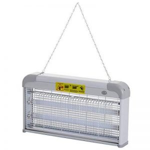 Outsunny Lampe UV Anti-Insectes Anti Moustique Tue Mouche électrique destructeur d'insectes 30 W Gris 13 de la marque Outsunny image 0 produit