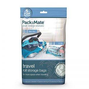 Packmate ® - Lot de 8 housse de rangement sous vide à rouler - pour les vacances/voyages, grandes valises/grands sacs de la marque Pack Mate image 0 produit