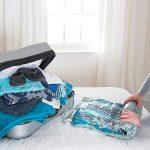 Packmate ® - Lot de 8 housse de rangement sous vide à rouler - pour les vacances/voyages, grandes valises/grands sacs de la marque Pack Mate image 2 produit