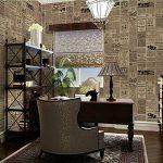 Papier peint Autocollant Salon Décoratif, cuisine, chambre à coucher Autocollants Muraux Européens Universels (Journal) de la marque SKY TEARS image 1 produit