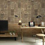 Papier peint Autocollant Salon Décoratif, cuisine, chambre à coucher Autocollants Muraux Européens Universels (Journal) de la marque SKY TEARS image 2 produit