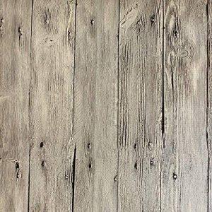 Papier Peint Imitation Bois Chinois Rétro Papier Peint Texture Bois PVC Hôtel,C-OneSize de la marque WANGHH image 0 produit
