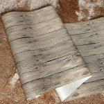 Papier Peint Imitation Bois Chinois Rétro Papier Peint Texture Bois PVC Hôtel,C-OneSize de la marque WANGHH image 1 produit