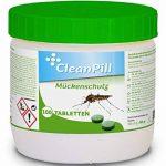 Pastilles de javel répulsives et anti-moustique - Boîte de 500g - 100 unités de la marque CLEANPILL image 3 produit