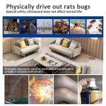 Pawaca Insectifuge électromagnétique contrôle 2018 contrôle Insectes insectifuges, souris, punaises de lit, fourmis, moustiques, crapauds, rongeurs de la marque Pawaca image 4 produit