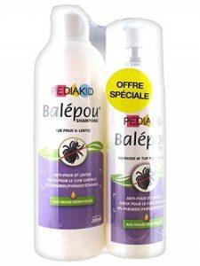 Pediakid Balepou Shampoing 200ml + Spray 100ml de la marque Pediakid image 0 produit