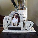 Petcabe Résine Cadre photo avec mot Love Motif utilisé pour table de bureau et la maison des Armoires de la marque image 4 produit