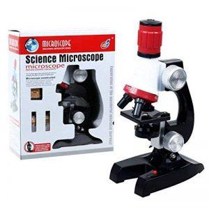 PHOEWON Niños Microscopio Kit Scienza Microscopio Bambini 100x 400x 1200x Microscopio con LED Luci Kit de Microscopio para Estudiantes de la marque PHOEWON image 0 produit