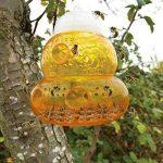 Piège à guêpes / Piège à frelons à suspendre (Lot de 2) - Solution Naturelle et Ecologique Anti Guêpe (Orange) de la marque Aspectek image 3 produit