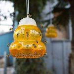 Piège à guêpes / Piège à frelons à suspendre (Lot de 2) - Solution Naturelle et Ecologique Anti Guêpe (Orange) de la marque Aspectek image 4 produit