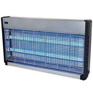 Piège lumineux pour insectes extra fort de 4000v / 2 x 20 Watt ampleur de 200 m² - Piège lumineux avec source de lumière UV de la marque Powerpreise24 image 0 produit