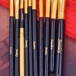 pinceaux maquillages 10 PCS Pinceau maquillage yeux fard à paupières Eyeliner Lip Brush Powder Foundation outil cosmétique pinceaux Kit de la marque SUNNICY image 4 produit