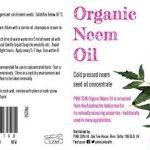 PINK SUN Huile de Neem Bio Pressée à Froid Vierge 250ml (Également disponible en 1 litre) Pure Organic Neem Oil - Cold Pressed Unrefined Concentrate de la marque PINK SUN image 1 produit