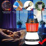 Portable Moustique Tueur Lampe Homecube Piège à Insectes Lanterne de Camping Tente Lumière IP67 Imperméable à L'eau Chargement USB Lampe de Moustiques Zapper Répulsif Rechargeable Lumière, pour Extérieur et Urgences de la marque Homecube image 5 produit