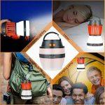 Portable Moustique Tueur Lampe Homecube Piège à Insectes Lanterne de Camping Tente Lumière IP67 Imperméable à L'eau Chargement USB Lampe de Moustiques Zapper Répulsif Rechargeable Lumière, pour Extérieur et Urgences de la marque Homecube image 4 produit