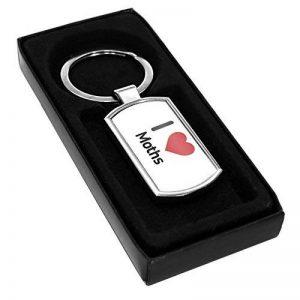 Porte-clés en métal Motif I Love mites 1737 de la marque Duke Gifts image 0 produit