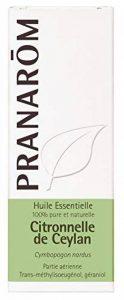 Pranarôm - HUILE ESSENTIELLE - Citronnelle de Ceylan - 10 ml de la marque Pranarôm image 0 produit