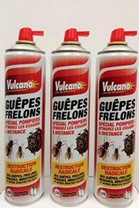 PRODUIT INSECTICIDE ANTI GUEPE FRELON SPECIAL POMPIER LOT 3 BOMBES de la marque Vulcano image 0 produit