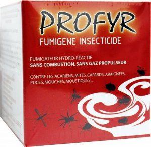 PROFYR NOXIMA Insecticide prêt à l'emploi profyr fumigène anti cafards-mites-punaises-puces-mouches-moustiques de la marque PROFYR NOXIMA image 0 produit