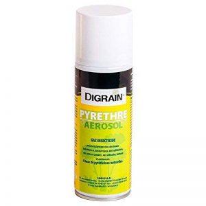 Pyrèthre Aérosol Digrain (200 ml) - Anti insectes rampants & volants de la marque Digrain image 0 produit
