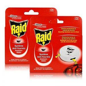 Raid 2 x fourmis-appâts-convient pour l'intérieur et l'extérieur de la marque Raid image 0 produit