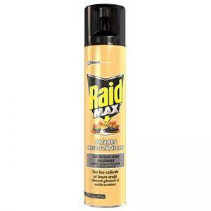 Raid Aérosol MAX Cafards 3 en 1, Fourmis, Insecticide, 300 ml de la marque Raid image 0 produit