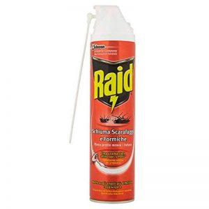 Raid cafards et fourmis mousse active spray–400ml de la marque Raid image 0 produit