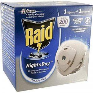 Raid - Diffuseur Anti-mouches et moustiques night & day - 10 jours x 24 heures de la marque image 0 produit