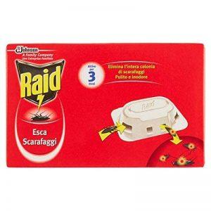 RaidLot de 2 boîtes de 6 anti-cafards (12 au total) de la marque Raid image 0 produit