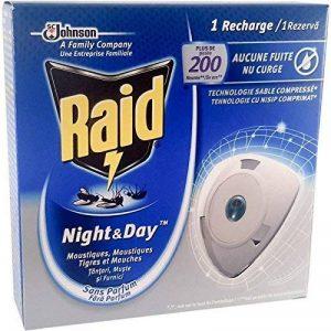 Raid Recharge pour Diffuseur Insecticide Night & Day 10 jours de la marque Raid image 0 produit