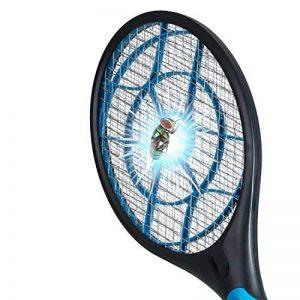 Raquette électrique tue mouche anti insectes électrique Destructeur de moustiques insectes volants Raquette exterminadora insectes RAQUETTE anti-insectes. de la marque Raquette anti moustiques image 0 produit