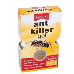 Rentokil Ant Killer Gel appât élimine les fourmis et nids pour utilisation en intérieur–Lot de 2 de la marque Rentokil image 0 produit