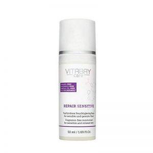 Repair Sensitive 50 ml - anti-démangeaison et apaisant avec de la cortisone organique de la vigne du ballon (défensil) contre les coups de soleil, les piqûres de moustiques, la dermatite atopique et les rougeurs de la peau de la marque Vitabay ® Care image 0 produit