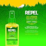 Repel d'eucalyptus citronné Insectifuge Naturel 113,4gram Pompe Spray, Coque Lot de 6 de la marque Repel image 2 produit