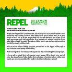 Repel d'eucalyptus citronné Insectifuge Naturel 113,4gram Pompe Spray, Coque Lot de 6 de la marque Repel image 3 produit