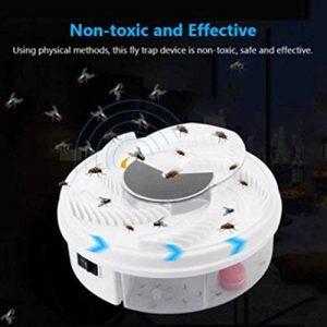 ROKOO Dispositif électrique de Trappe de Mouche d'Autumatic avec l'outil de Piégeage de Nourriture de Câble d'USB de la marque ROKOO image 0 produit