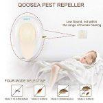 Répulsif Ultrasonique de Ravageurs (2 pièces) Qoosea Ultrasonique avec Anti-moustiques Répulsif contre les Ravageurs Répulsif électromagnétique plug in, éliminer, Cafards, Souris, Araignées, Puces, Mouches, Insectes, Moustiques, etc. 100% sûr pour l'homme image 1 produit