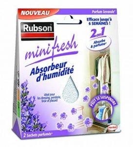 Rubson 1940377 Minifresh Sachet d'Absorbeur d'humidité 2 pièces 50 g Lavande de la marque Rubson image 0 produit