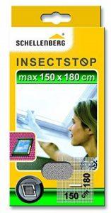 Schellenberg 50328 Moustiquaire pour lucarnes contre insectes/moustiques 150 x 180 cm Blanc de la marque Schellenberg image 0 produit